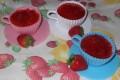Panna cotta con le fragole