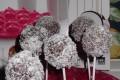 Cake-pops al cocco e zenzero