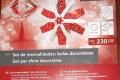 Decorazioni natalizie di carta a forma di stella