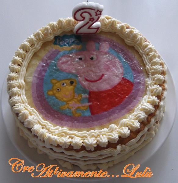 Torta Di Compleanno Di Peppa Pig Blog Di Creattivamentelulù